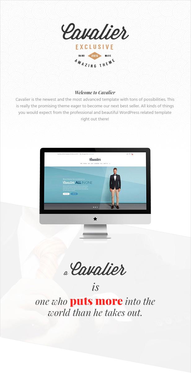 Cavalier - Vendemos las tendencias. Tema Woocommerce - 2